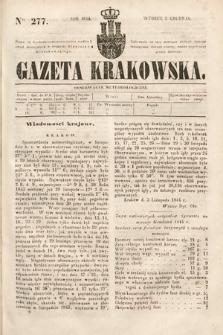 Gazeta Krakowska. 1844, nr277