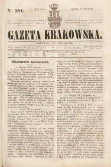Gazeta Krakowska. 1844, nr284