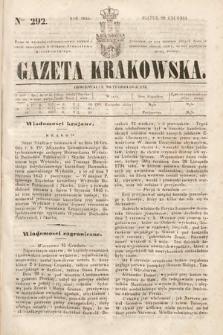 Gazeta Krakowska. 1844, nr292