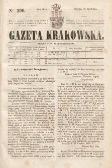 Gazeta Krakowska. 1844, nr296