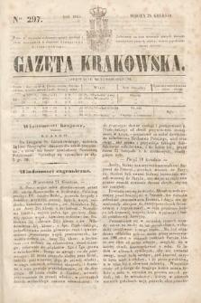 Gazeta Krakowska. 1844, nr297