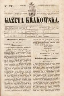 Gazeta Krakowska. 1844, nr298