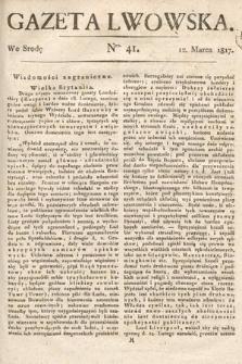 Gazeta Lwowska. 1817, nr41
