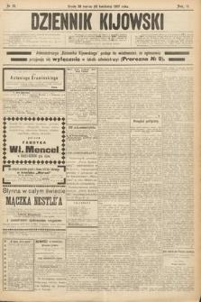 Dziennik Kijowski. 1907, nr72