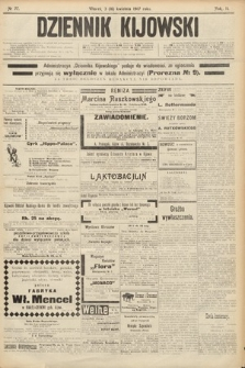 Dziennik Kijowski. 1907, nr77