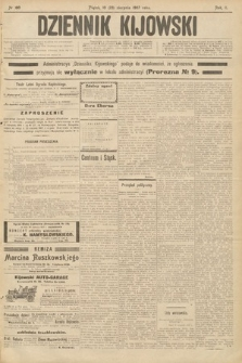 Dziennik Kijowski. 1907, nr180