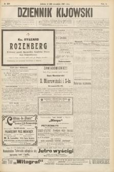 Dziennik Kijowski. 1907, nr209