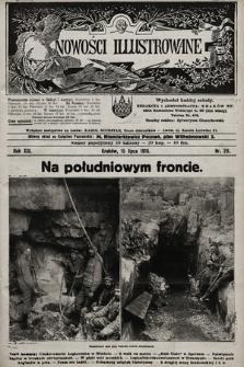 Nowości Illustrowane. 1916, nr29