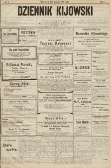 Dziennik Kijowski. 1906, nr11