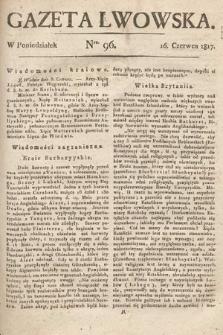 Gazeta Lwowska. 1817, nr96
