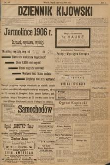 Dziennik Kijowski. 1906, nr107