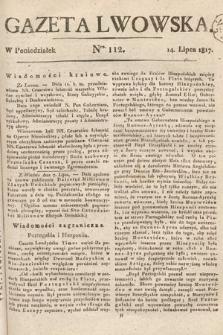 Gazeta Lwowska. 1817, nr112