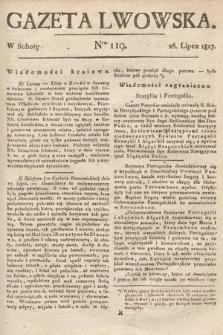 Gazeta Lwowska. 1817, nr119