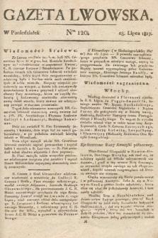 Gazeta Lwowska. 1817, nr120