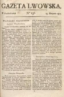 Gazeta Lwowska. 1817, nr136
