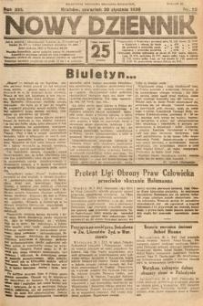 Nowy Dziennik. 1930, nr25