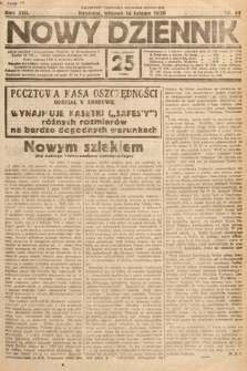 Nowy Dziennik. 1930, nr44