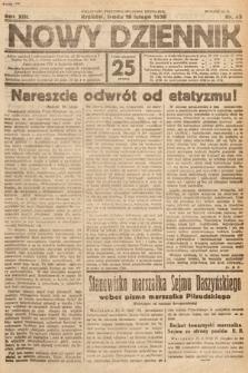 Nowy Dziennik. 1930, nr45