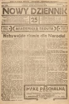 Nowy Dziennik. 1930, nr63