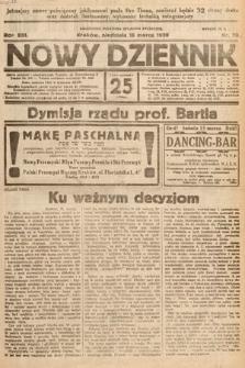 Nowy Dziennik. 1930, nr70