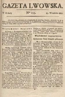 Gazeta Lwowska. 1817, nr155