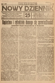 Nowy Dziennik. 1930, nr80