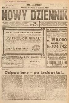 Nowy Dziennik. 1930, nr98