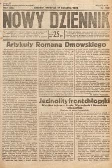 Nowy Dziennik. 1930, nr100