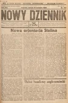 Nowy Dziennik. 1930, nr102