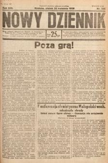 Nowy Dziennik. 1930, nr106