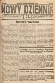 Nowy Dziennik. 1930, nr107