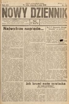 Nowy Dziennik. 1930, nr112