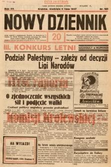 Nowy Dziennik. 1937, nr183