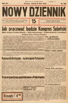 Nowy Dziennik. 1937, nr185