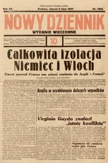 Nowy Dziennik (wydanie wieczorne). 1937, nr185