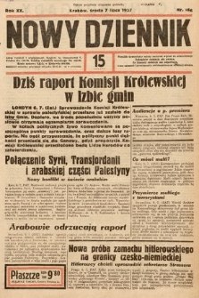 Nowy Dziennik. 1937, nr186