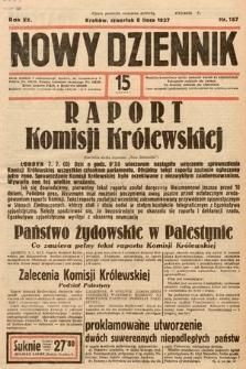Nowy Dziennik. 1937, nr187