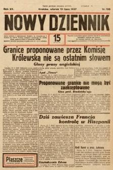 Nowy Dziennik. 1937, nr192