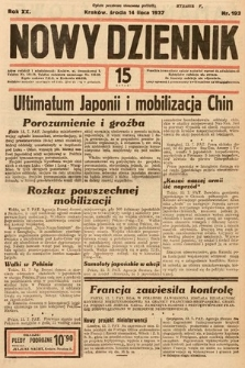 Nowy Dziennik. 1937, nr193