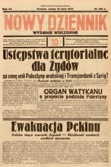 Nowy Dziennik (wydanie wieczorne). 1937, nr193