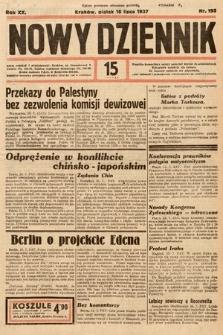 Nowy Dziennik. 1937, nr195