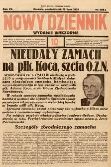 Nowy Dziennik (wydanie wieczorne). 1937, nr198