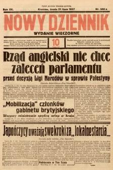 Nowy Dziennik (wydanie wieczorne). 1937, nr200