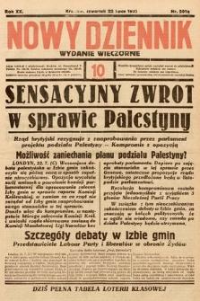 Nowy Dziennik (wydanie wieczorne). 1937, nr201