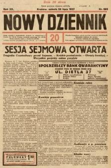 Nowy Dziennik. 1937, nr203