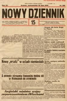 Nowy Dziennik. 1937, nr205
