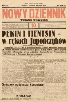 Nowy Dziennik (wydanie wieczorne). 1937, nr208