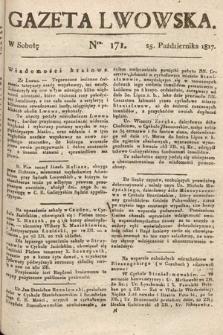 Gazeta Lwowska. 1817, nr171