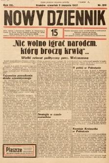 Nowy Dziennik. 1937, nr215