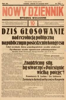 Nowy Dziennik (wydanie wieczorne). 1937, nr220